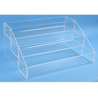 Countertop Acrylic Display 3 Tier Organizer Bin - Make Up, Jewelry, Etc.