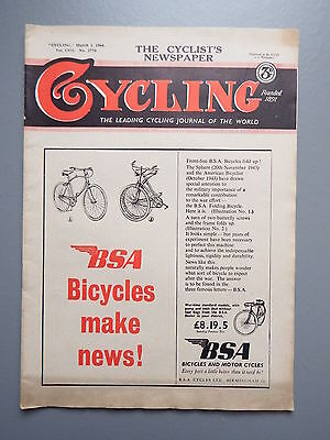 R&L Mag: Cycling Journal March 1 1944 Vol.CVII No.2770, Vintage Bicycles