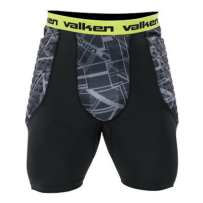 New Valken Agility Slide Slider Shorts Protective Pads - Small/Medium S/M