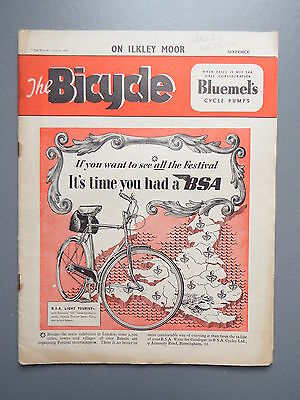 R&L Mag: The Bicycle July 4 1951, Vintage Bikes/Cycling