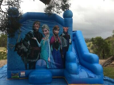 Frozen Jumping Castle  Hire Only Melbourne Children Party Entertainment Hire