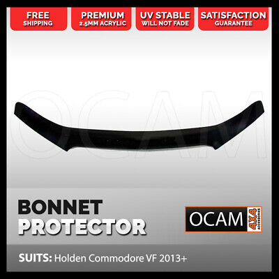 Bonnet Protector For Holden VF Commodore 2013 - 2017 Tinted Guard
