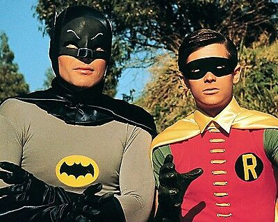 "Adam West And Burt Ward In ""Batman"" - 8X10 Publicity Photo (Zz-196)"