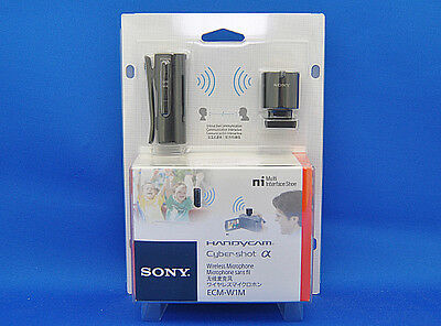 Sony ECM-W1M Microphone for camcorder Wireless Bluetooth Japan Model New