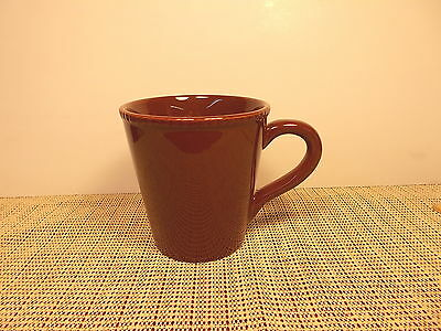 "David Tutera Dinnerware Aspire Pattern Mug 4""  Brown  New"