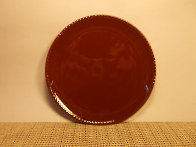 "David Tutera Dinnerware Aspire Pattern Salad Plate 8"" Brown"