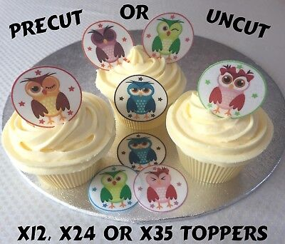 1.5 Inch Card Suits Casino Precut Wafer Paper Cupcake Bun Toppers 12 24 Or 35