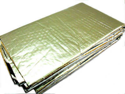 Car Chrome Silver Sound Proof Heat Proof Epdm Rubber Sheet