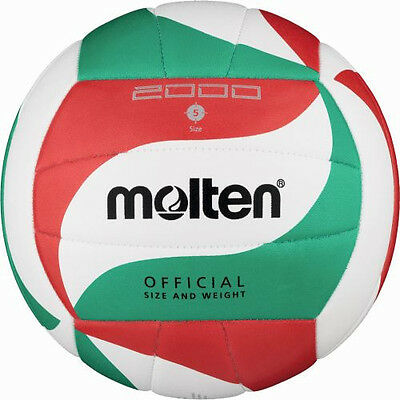 10x Molten V5M2000 Volleyball Trainingsball Schule Schulsport Training Volley