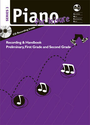 AMEB Piano For Leisure Preliminary To Grade 2 / Two Series 3 Cd / Handbook NEW