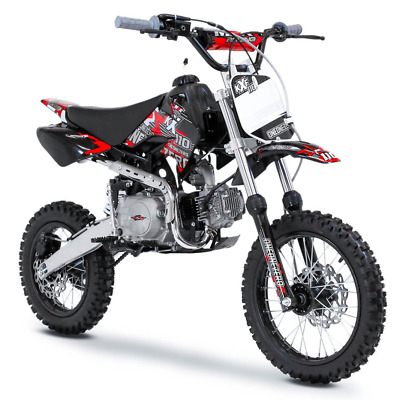 M2R Racing KX110F 110cc 76cm Red Pit Bike Off Road Dirt 4 Stroke Motocross