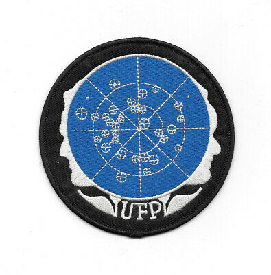 Star Trek Classic TV United Federation of Planets Faces Embroidered Patch NEW