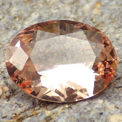 MORGANITE-NIGERIA 3.56Ct TOP INVESTMENT GEMSTONE-PERFECT CUT BY IAN-RARE!!