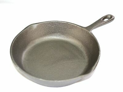 NEW 20cm ROUND SKILLET GRILL PAN BBQ Grillpan Cast Iron Cookware