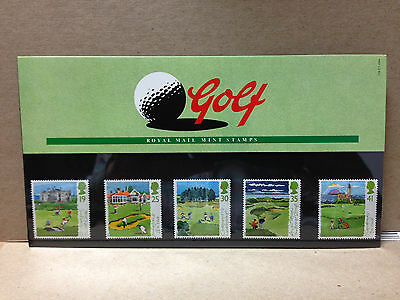 Great Britain Presentation Pack 1994 Golf Complete 5 Mint Stamps |