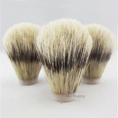 3 Pieces of Boar Bristle Hair Shaving Brush Knot Brush Head Knot Size 24mm