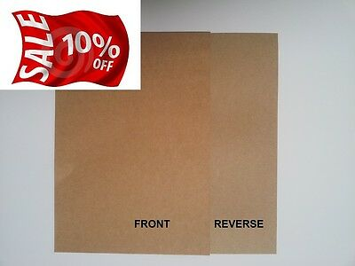 A3 Quality 100% Recycled Brown 280Gsm Kraft Card-Ideal For Craft/weddings