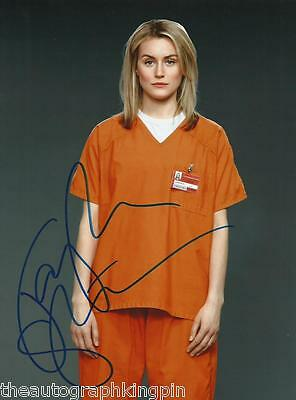 "TAYLOR SCHILLING OITNB GENUINE AUTOGRAPH HAND SIGNED 10x8"" PHOTO COA 2"