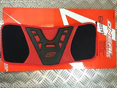 Oneal Motocross Kidney Belt Red Back Brace Protector Moto X Off Road Bike Small