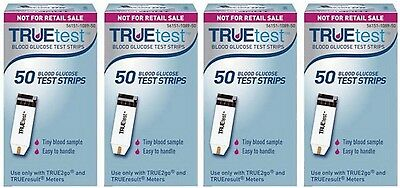 TrueTest Blood Glucose Test Strips 200 Count For TrueResult/TRUE2go EXP: 1/2018