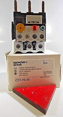 SPRECHER & SCHUH CT7 75 30 Thermal Overload Relay NEW IN THE BOX!