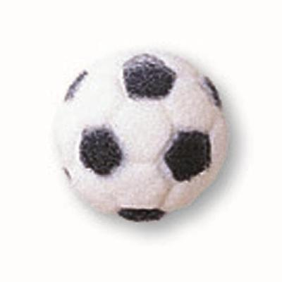 Sugar Decorations For Cupcakes - Soccer Ball