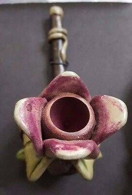 Artisan Flower  Handcrafted Pipe