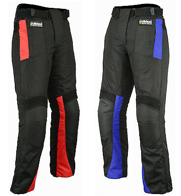 Motorbike Motorcycle Trousers Cordura Textile Waterproof Pants All Sizes/Weather