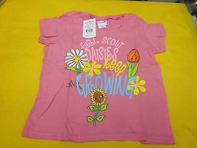 Daisy Girl Scouts Keep Growing Tee Shirt ( New ) Size Xxs 4/5