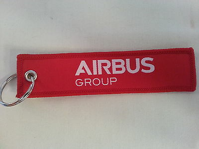 Airbus Group Flight Tag Keychain / Remove Before Flight New