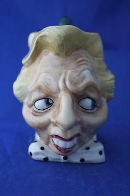 Kevin Francis Spitting Image Margaret Thatcher Character Jug - New & Boxed