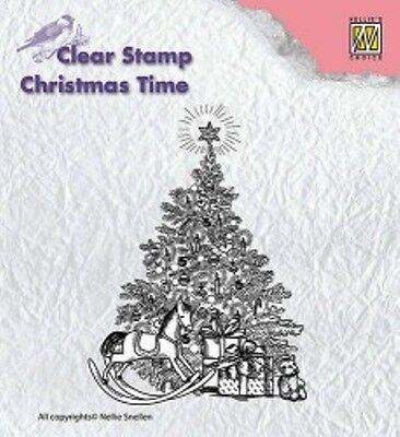 Nellie Snellen Christmas Time Clearstamp CT017