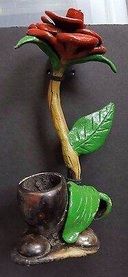 Artisan Rose  Handcrafted Pipe
