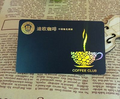 1000 High Quality Custom VIP Gift Business Cards Printing - Hologram foil &Gold