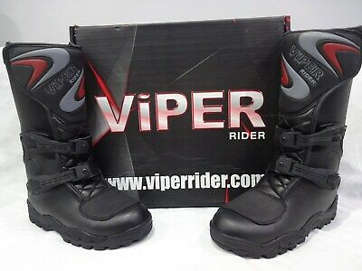 VIPER KIDS k156 MOTOCROSS QUAD BIKE DIRTBIKE OFF ROAD M/X BOOTS  BLACK  NEW