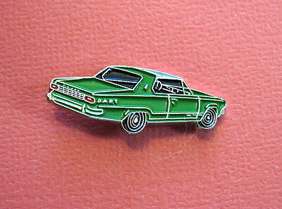 EARLY  dodge  DART  car - hat pin , tie tac , lapel pin , hatpin GIFT BOXED