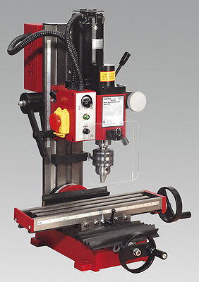 SEALEY NEW! Bench Mounted  Mini Drilling Milling Machine With Tilting Column 45°