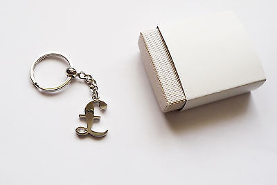 Metal Pound Symbol Key Ring