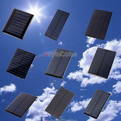 5V 0.2/0.5/1/1.2/1.5W Solar Panel Module for Cell Charger Toy/DIY