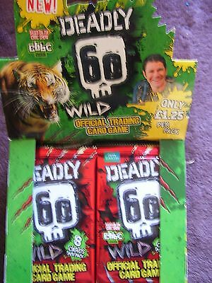 200 X Sealed Packets Deadly 60 Wild Packs Series 2, Cards Packs Genuine Bargain