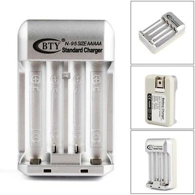Home Charger for AA AAA NiMH /NiCD Rechargeable Battery US Plug