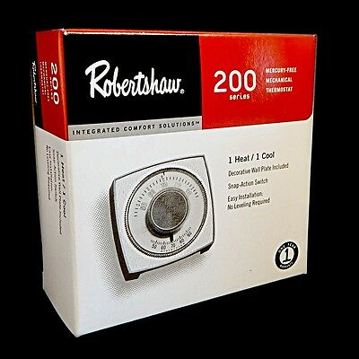 Robertshaw Mercury Free Mechanical Thermostat 200-403