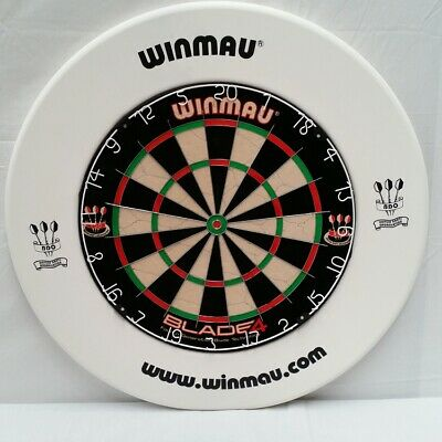 Winmau Dartboard SURROUND - WHITE