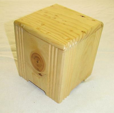 Memorial Pet Urn - Hand Crafted Pine Made in Pacific Northwest