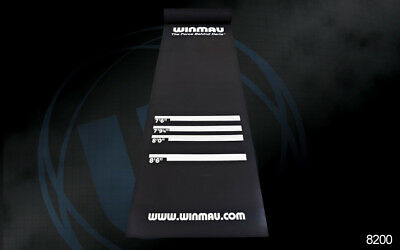 Winmau Heavy-Duty Rubber Dart Board MAT - Distance Markers
