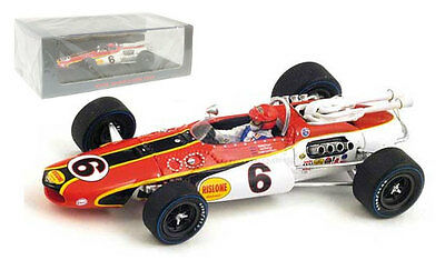 Spark S4257 Eagle MK3 #6 Indy 500 1967 - Bobby Unser 1/43 Scale