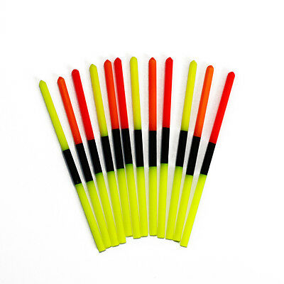 Hollow Split Colour Hi Viz Tips  Small Bore  (Pole Float Making)