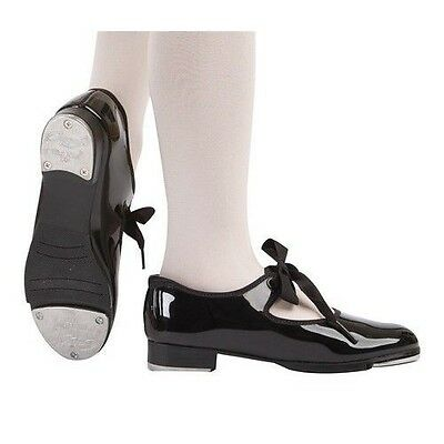 New Capezio Tap Shoe Jr. Tyette #625 in Black Toddler Child and Adult Many Sizes