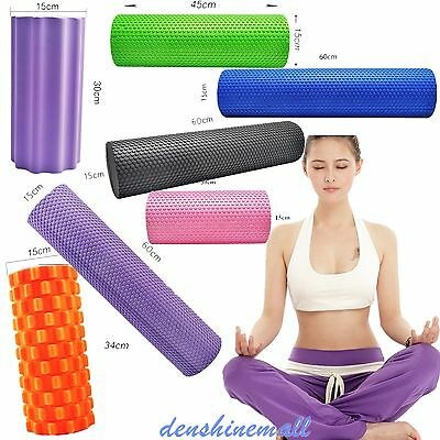 Yoga Roller Massage Floating Point  For Gym Pilates yoga  15x30cm New