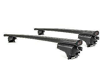 Quick-Fit Steel Roof Bars to fit Opel ASTRA H Estate 2004 On With Roof Rails
